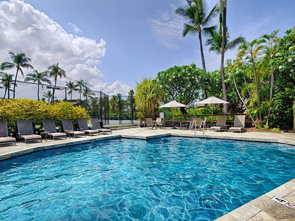 One of 3 pools at Kanaloa Resort.