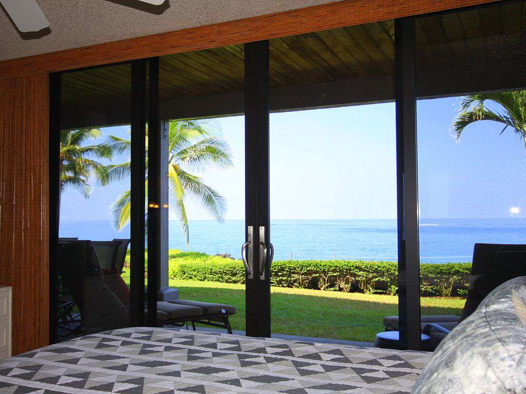 Yes, this is your view from the master bedroom!