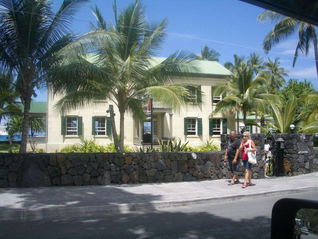 Hulihe'e Palace in Kailua town.