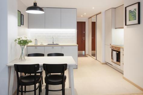 Modern Studio Apartment in City Center