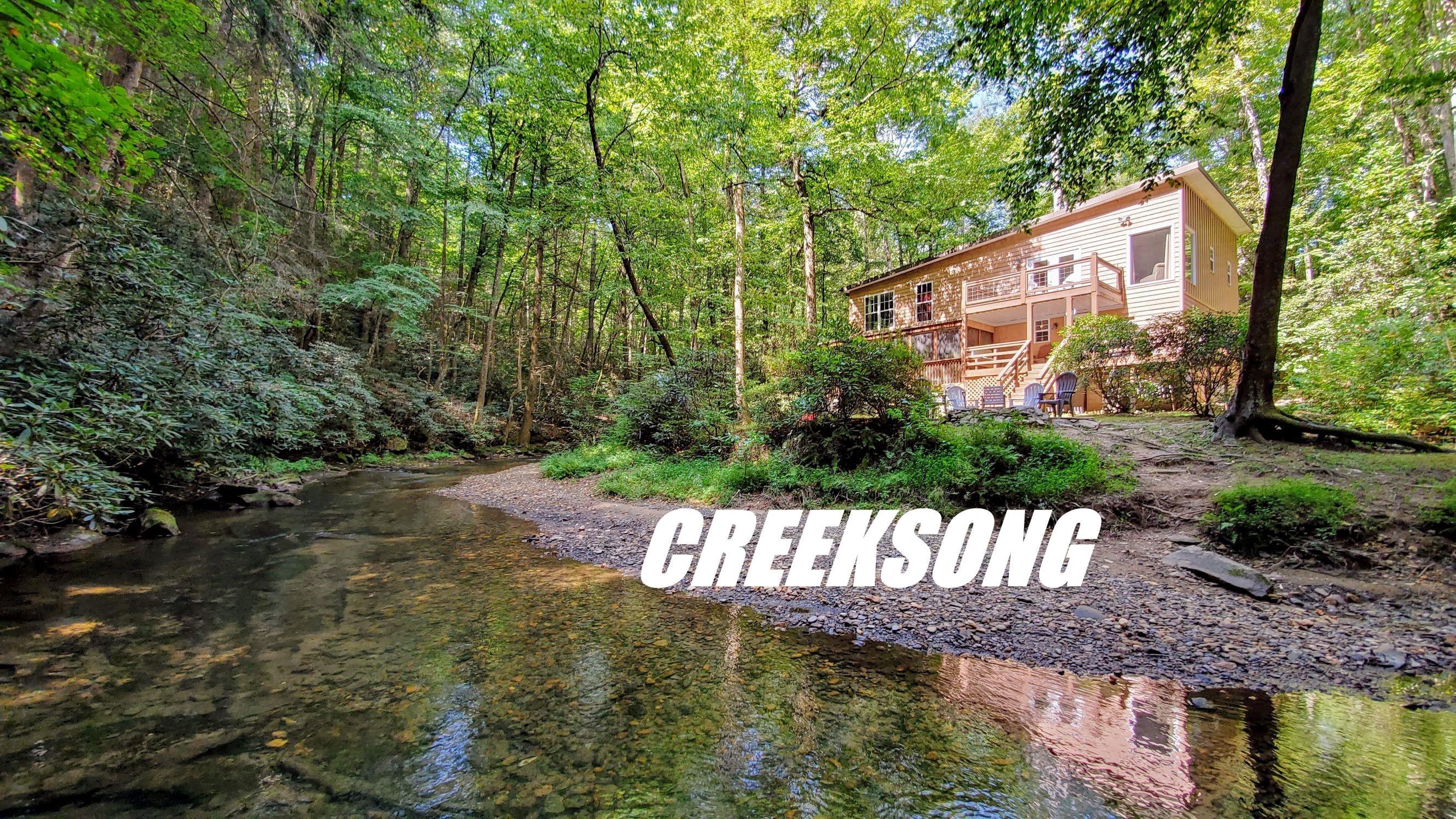 Creeksong – Celebrate Blue Ridge Cabin Rentals