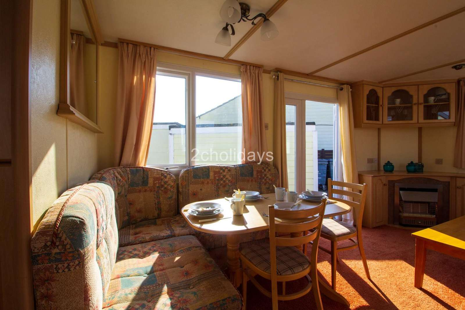 Come and stay in this private accommodation at St Osyth Beach Holiday Park
