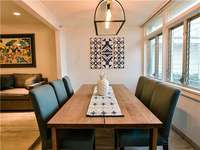 Room for 6 at your stunning dining room table. thumb
