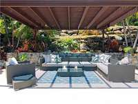 Outdoor seating and lounge area thumb