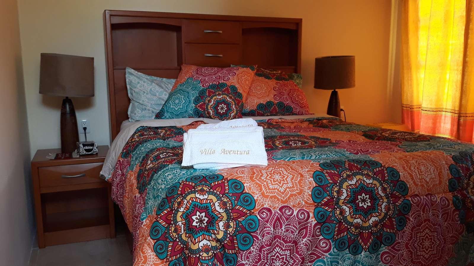 Casita - Queen bed with ensuite bathroom & terrace