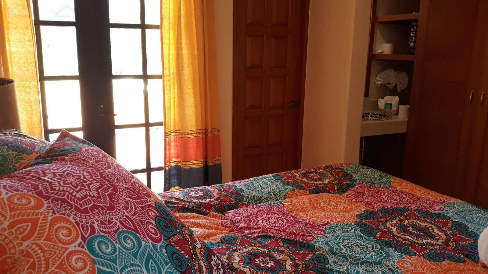 Casita - Upstairs bedroom