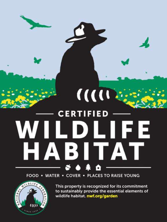 Proud to be a friend to wildlife.  Promoting Health of Honey Bees/ Pollinators.