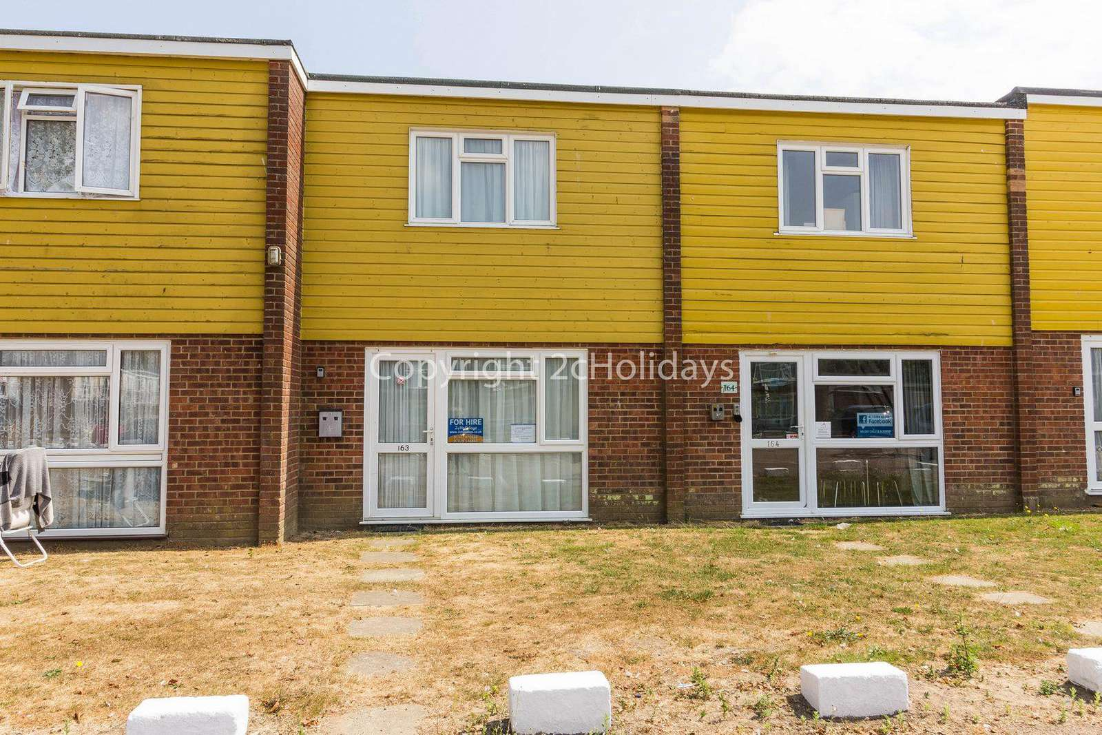 6 berth chalet for hire in Hemsby