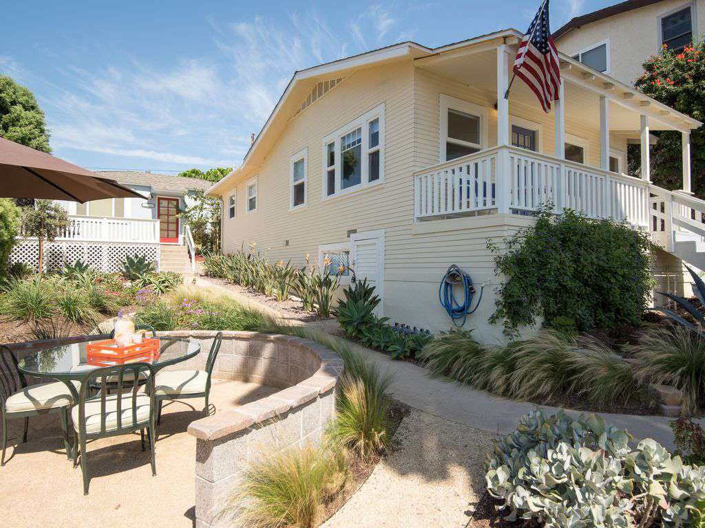 Relax and enjoy the comfortable front porch with ocean view.