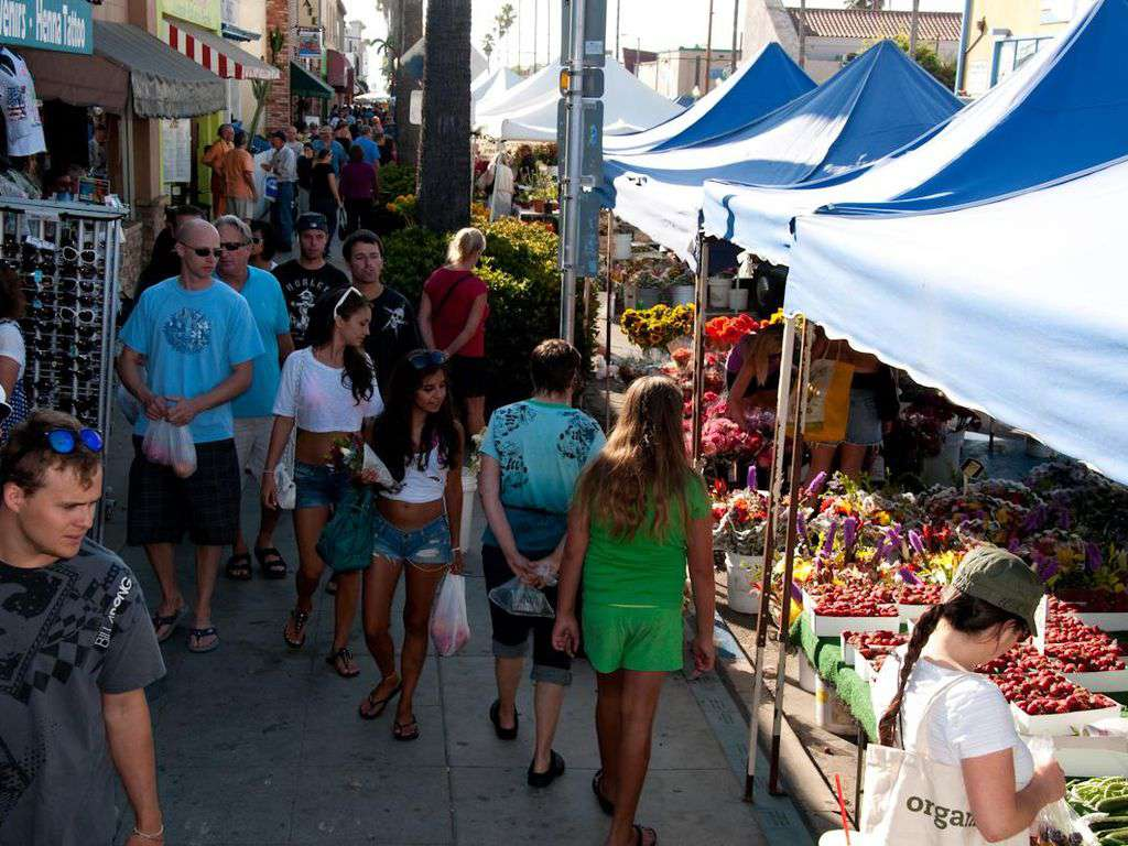 Weekly farmer's market, Wednesdays on Newport Ave - and short walk from cottage.