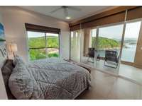 Terrace access from the master bedroom with dramatic ocean views thumb