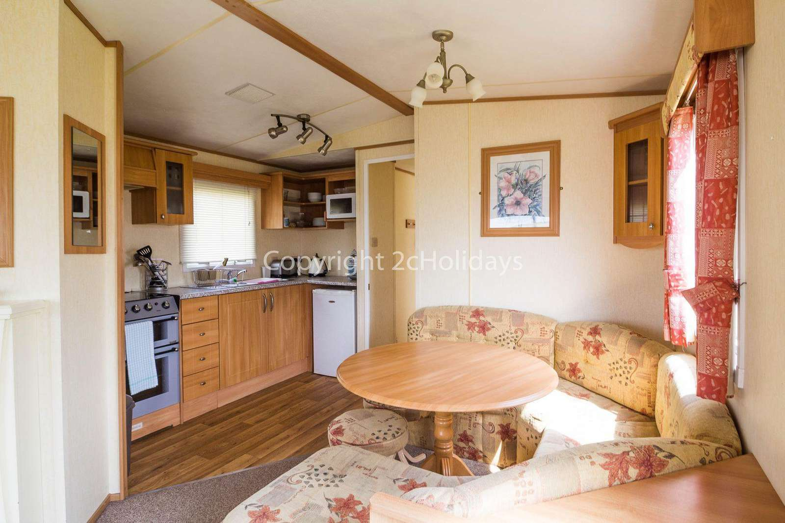 Come and stay in this private accommodation at Manor Park Holiday Park