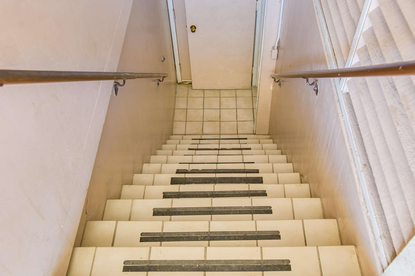 Stairs to Elevator level