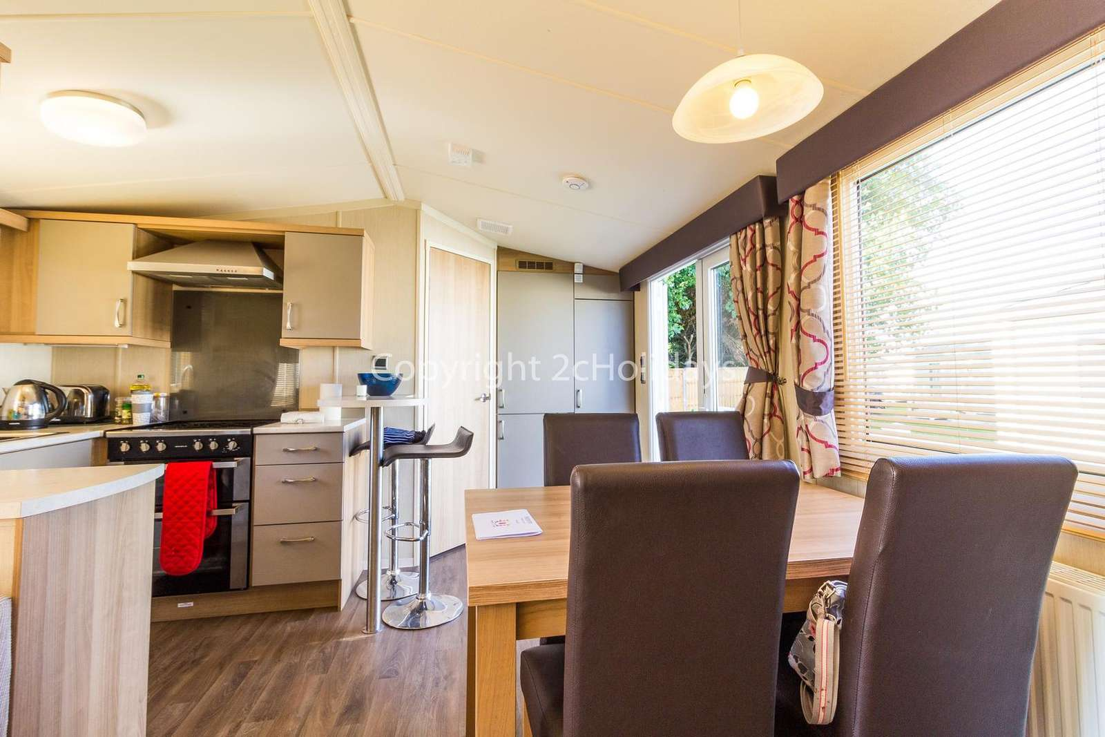 Come and stay in this private accommodation at Hopton Holiday Village.