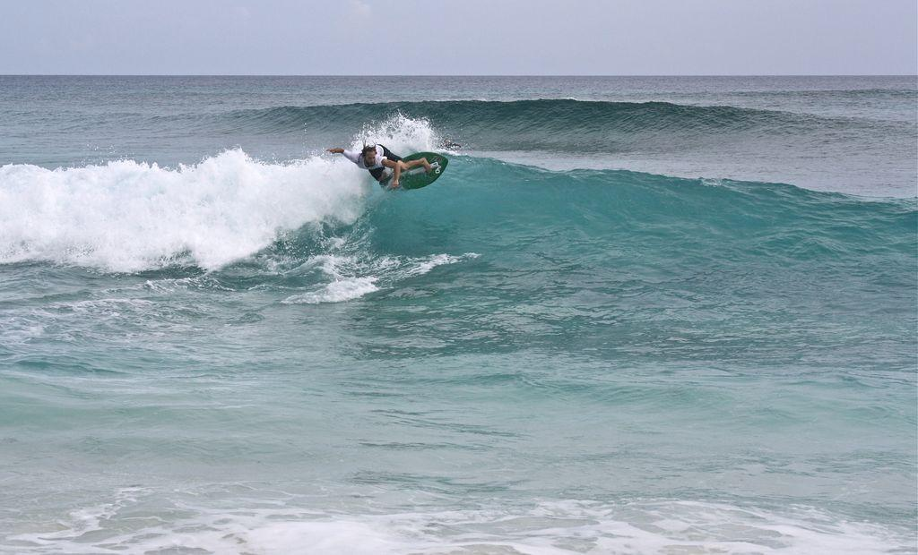Some of the best surfing in the Bahamas