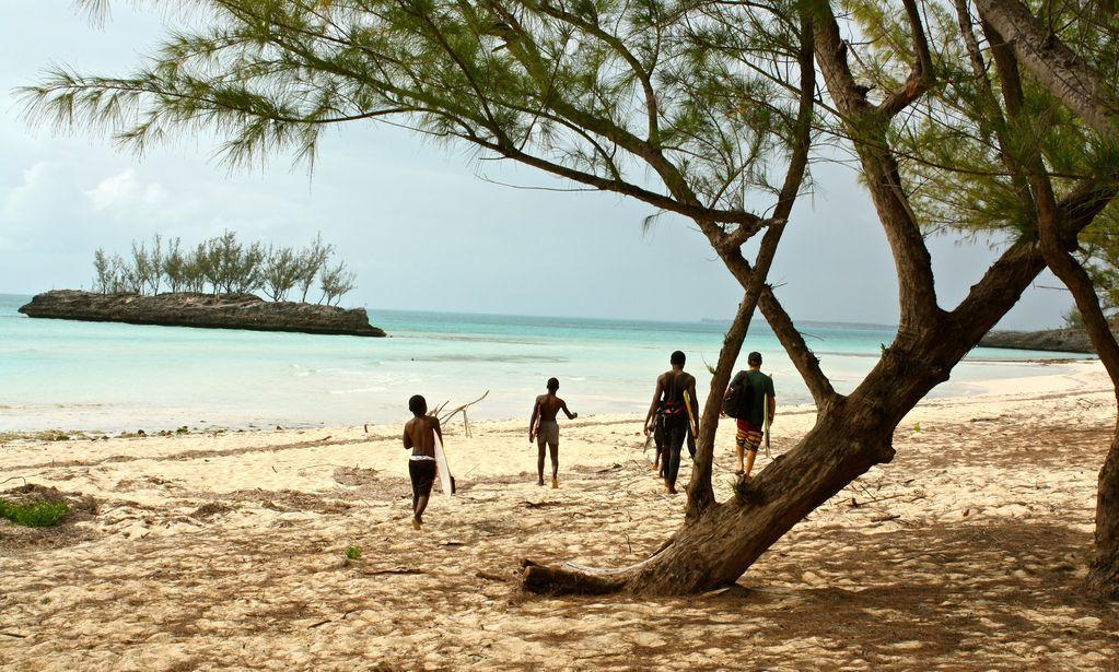One of the most beautiful beaches on Eleuthera is just 5 minutes away
