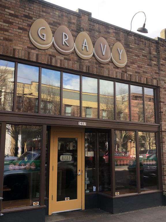 Gravy is a must visit brunch spot a few mins walk away- you will be in heaven!
