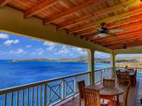 Gorgeous views from the covered deck thumb