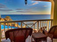 Endless ocean views from bedroom 4's private balcony! thumb