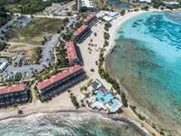 An aerial of the Sapphire Pool and Sapphire Beach! thumb