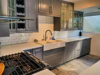 The beautiful updated kitchen thumb