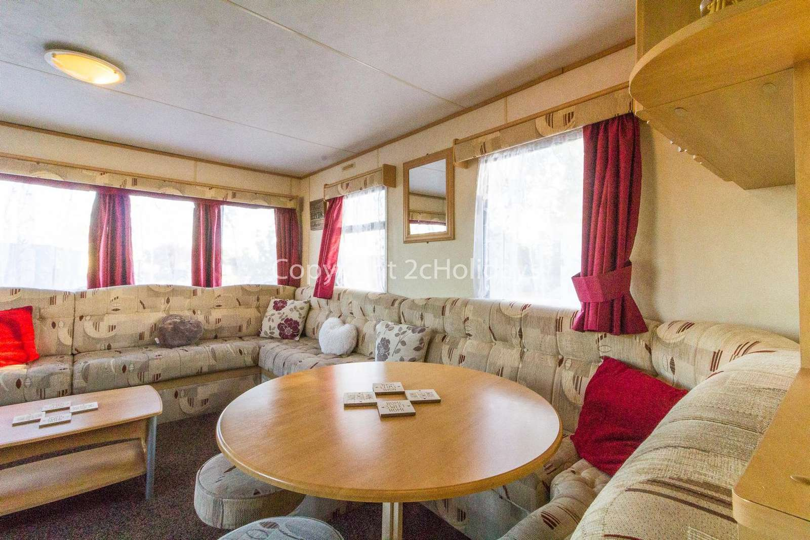 Come and stay in this private accommodation at Seawick Holiday Park