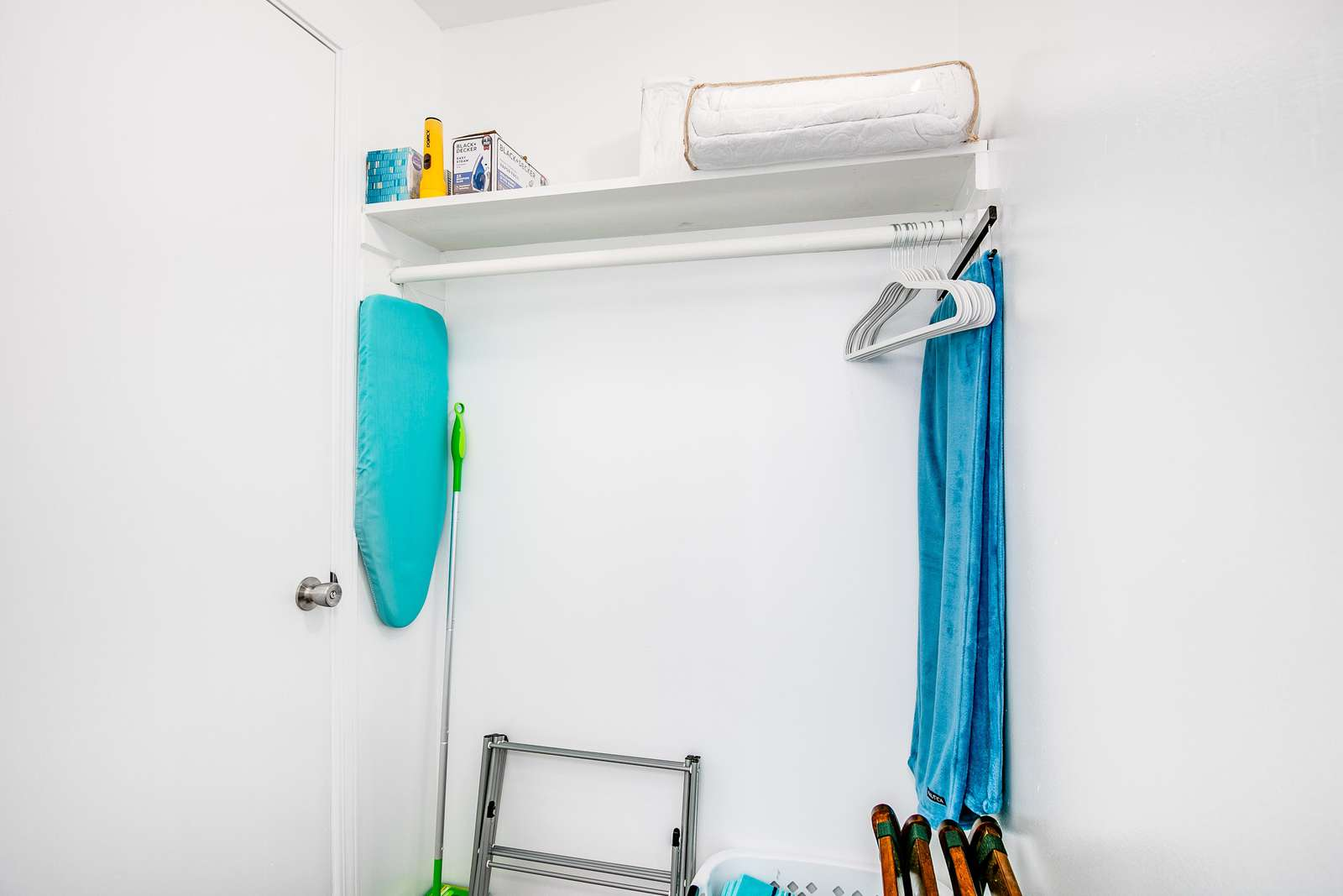 Ample hanging space