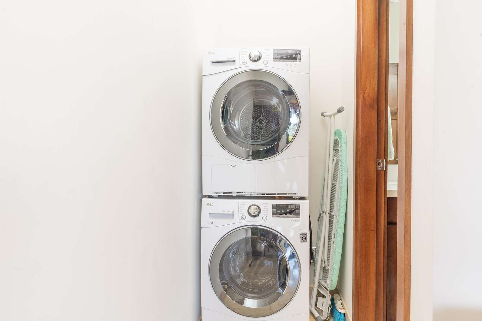 LG Front loading washer & dryer