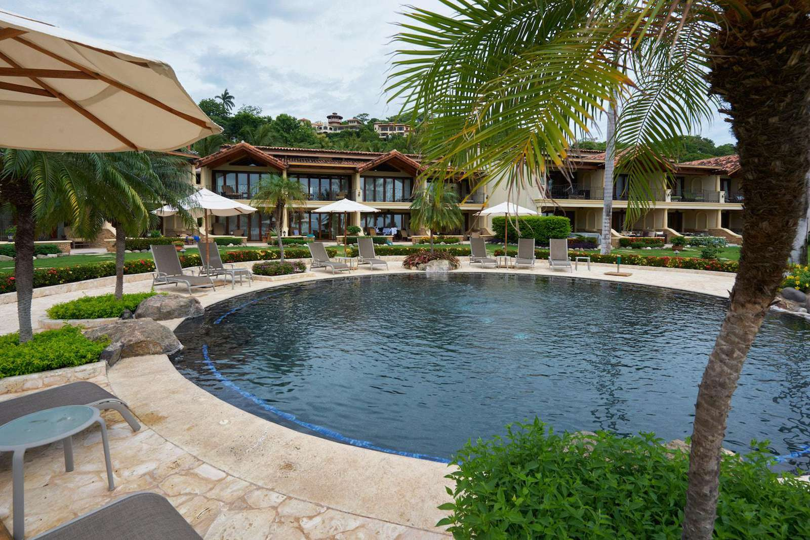 Spacious resort-style pool