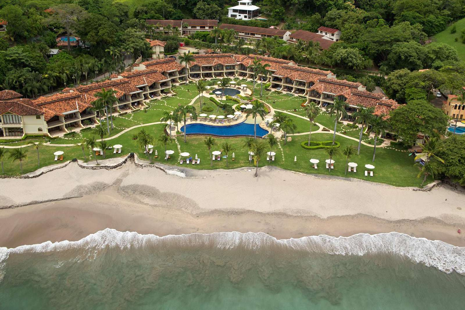 The palms resort, aerial view