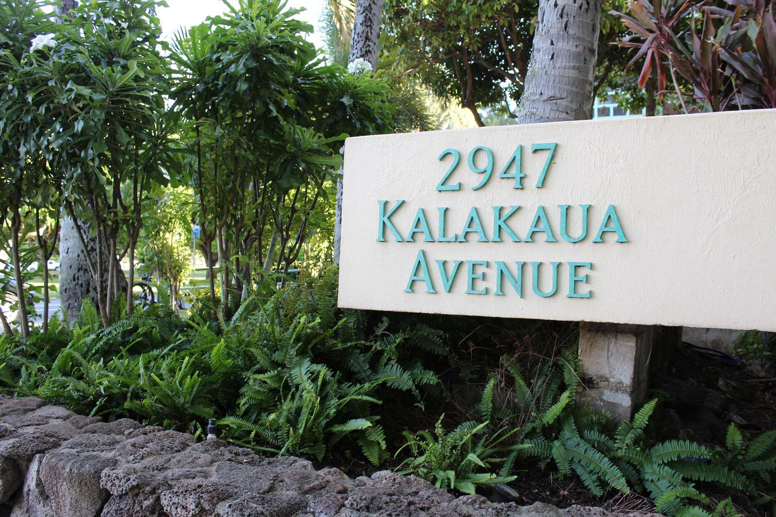 "Our address on Oahu's ""Gold Coast"" - The quiet & relaxing place to stay."