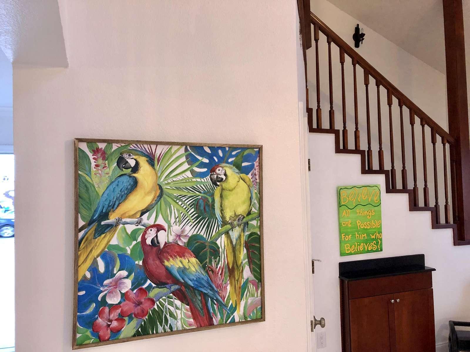 family room art
