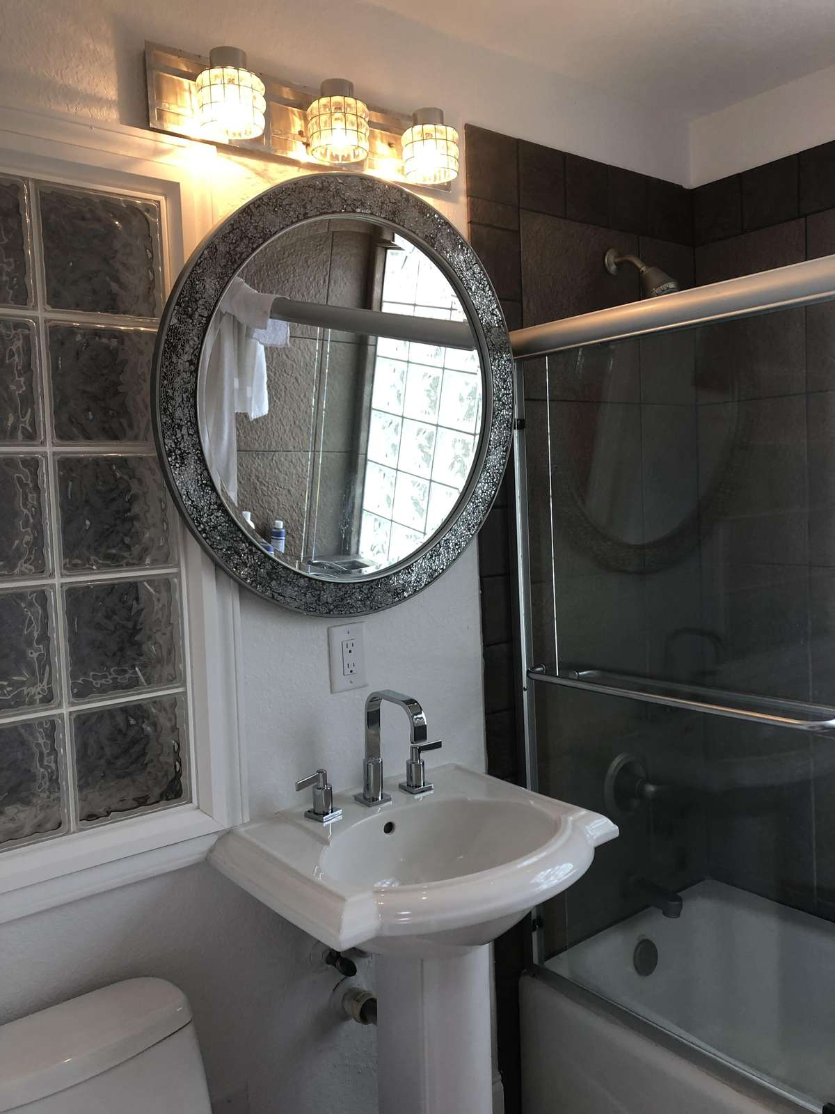bathroom # 1 with tub and shower