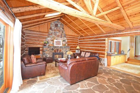 Mountain Ash Log Cabin