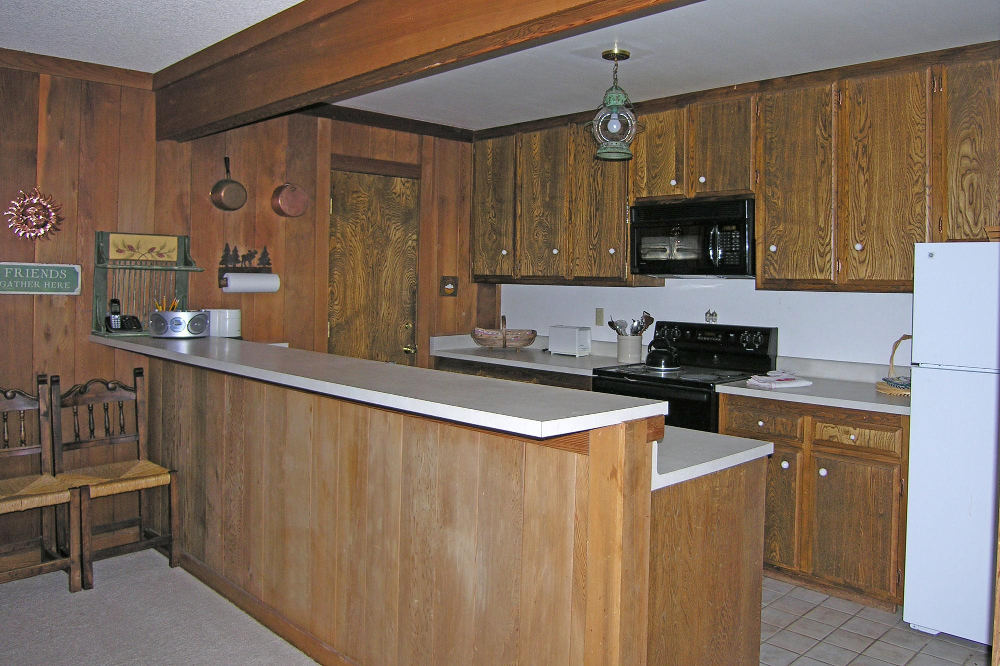 Kitchen off of Great Room