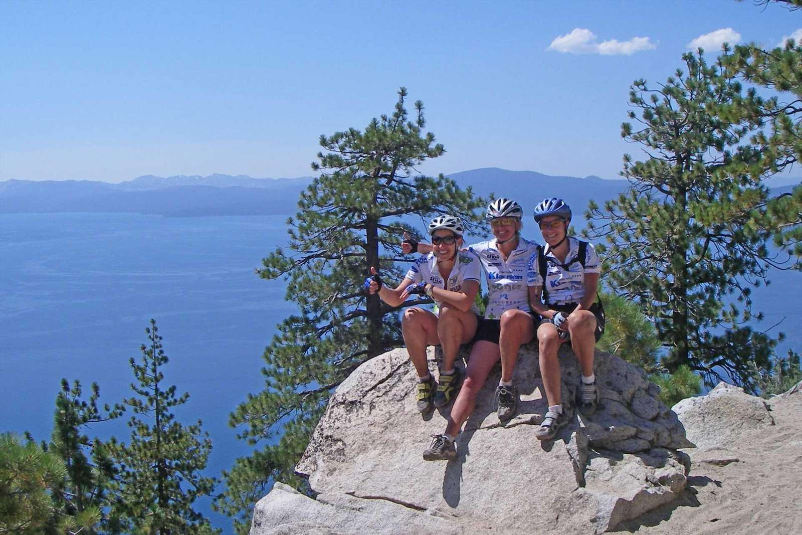 Flume Trail Mountain Biking