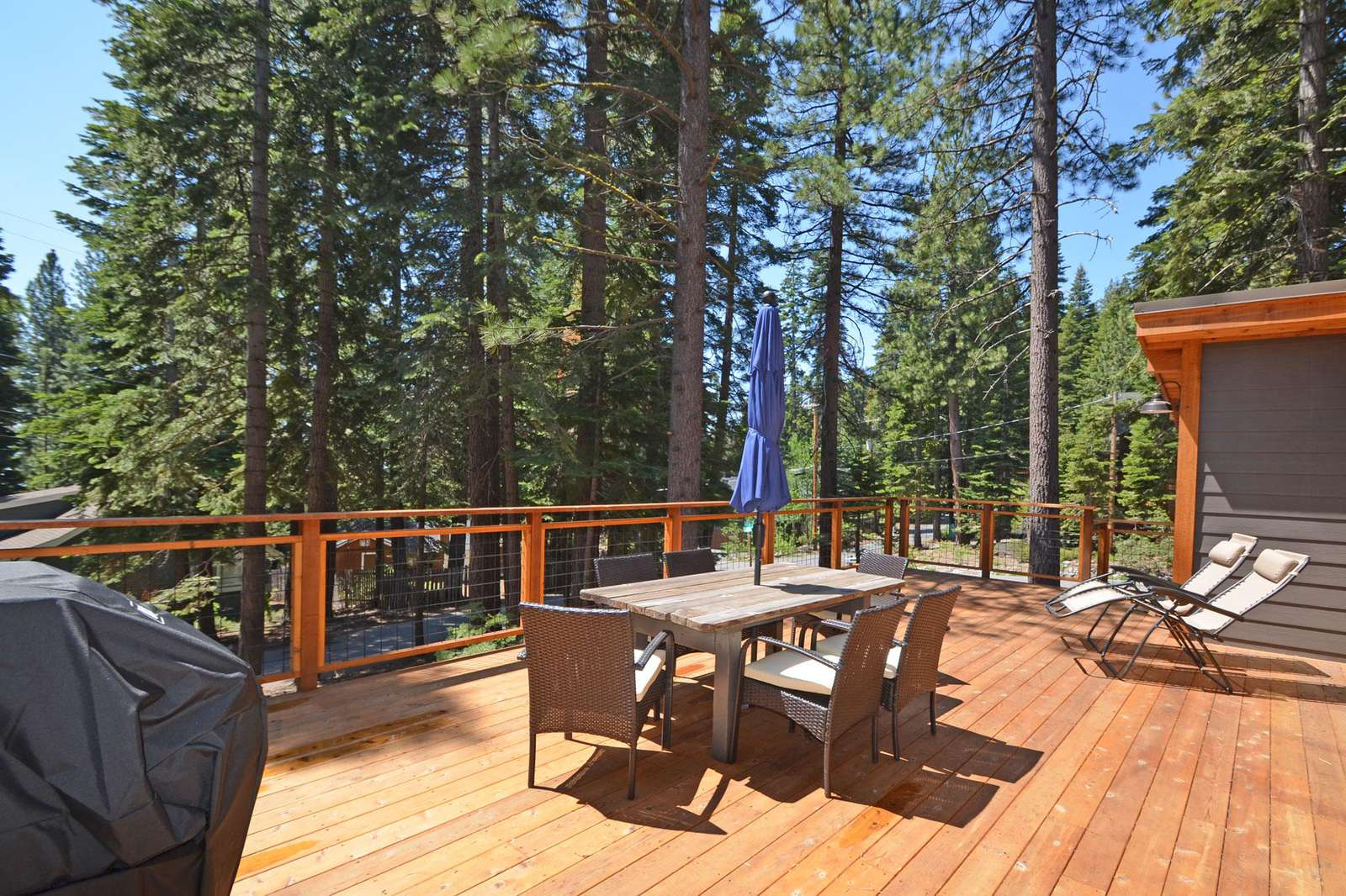 Large Sunny Deck for Lounging