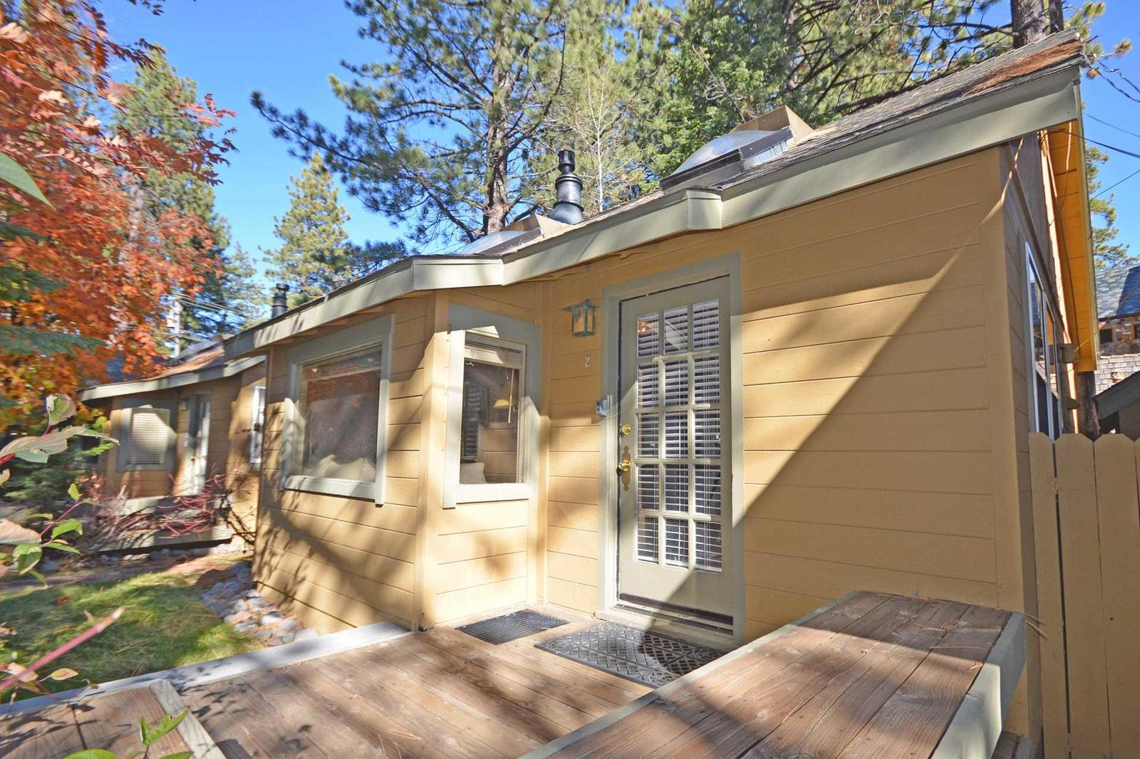 Pine Cove Cabin #2 Front Door