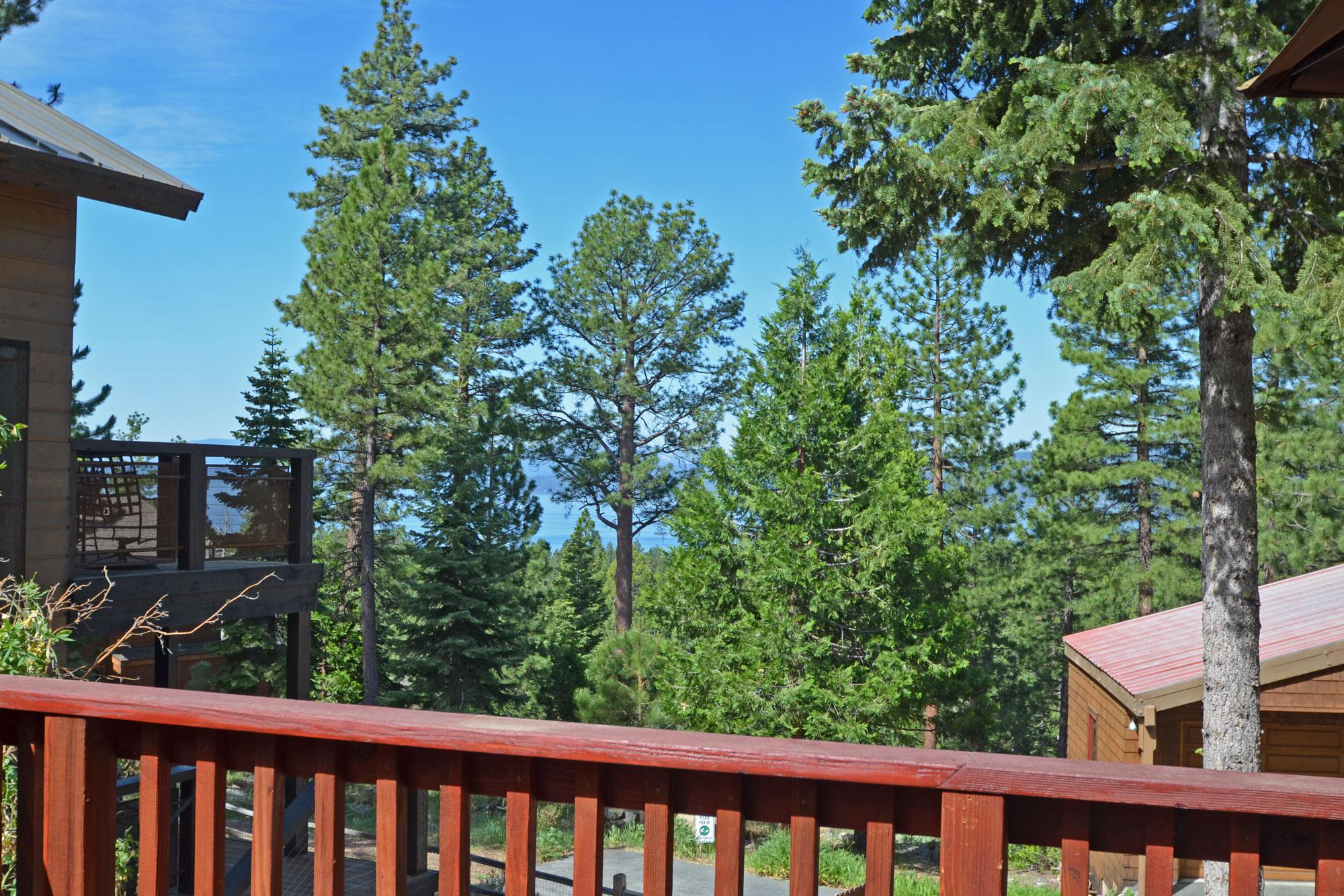 Lake Tahoe from Back Deck