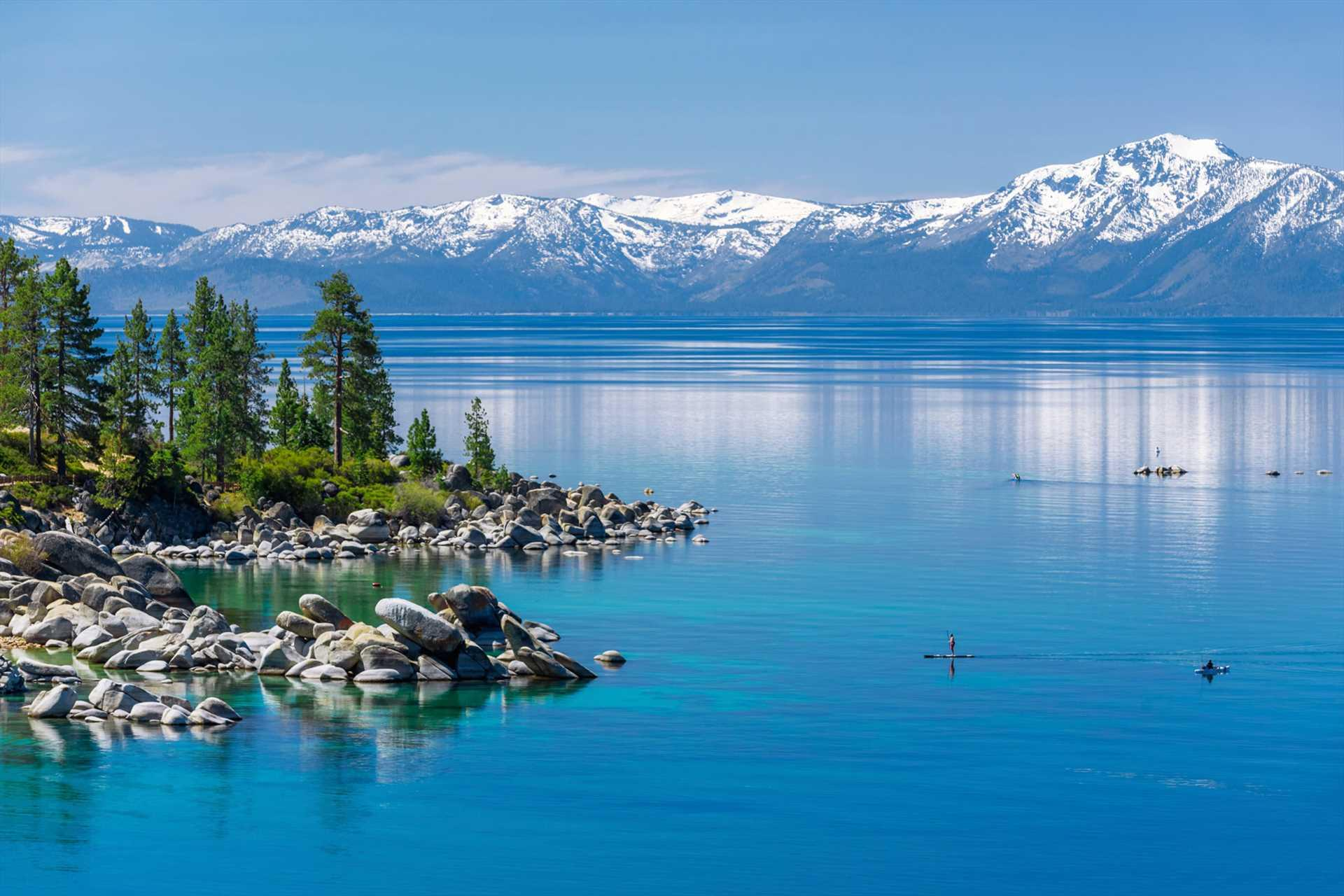 Lake Tahoe and Mt Tallac