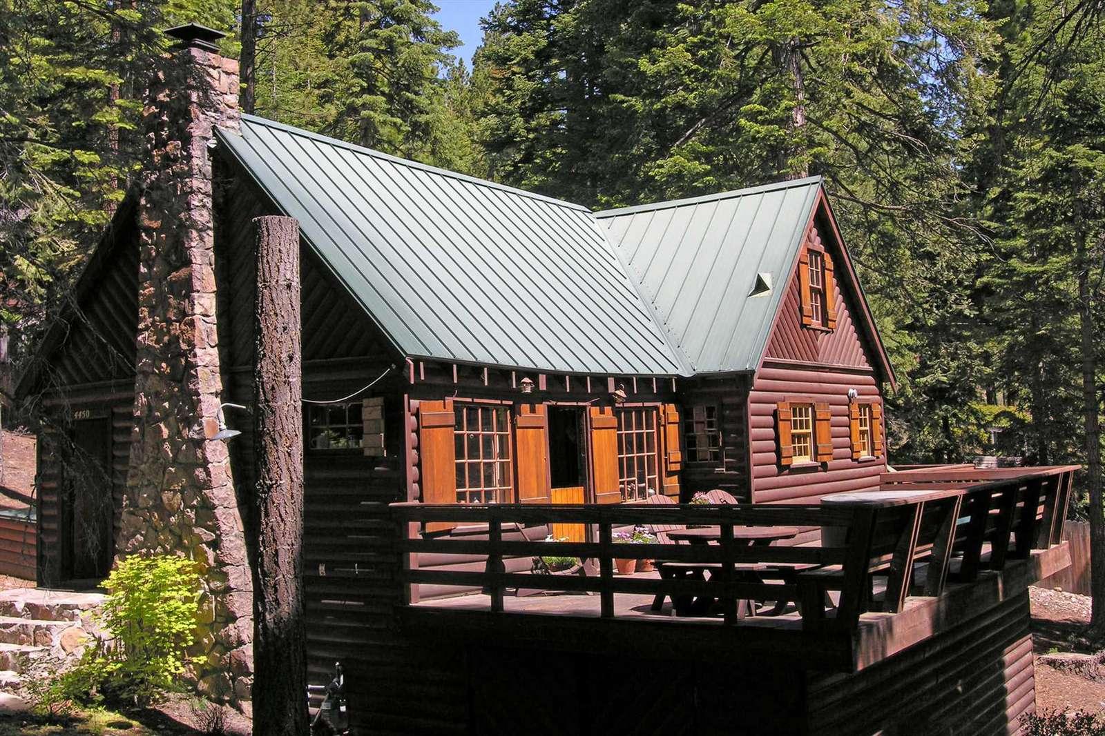 Miraculous Gundys Getaway Classic Tahoe Log Cabin Carnelian Bay Lake Download Free Architecture Designs Scobabritishbridgeorg