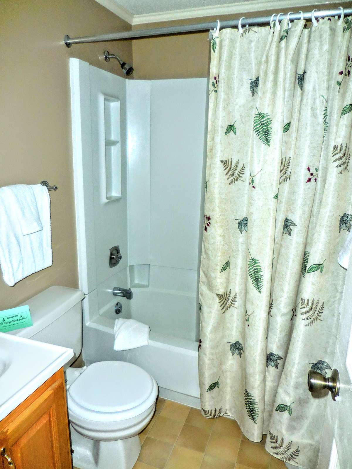 Master bedroom has full-sized attached bathroom; spacious with plenty of privacy!
