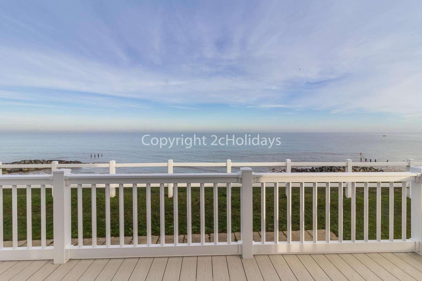 Sea view accommodation