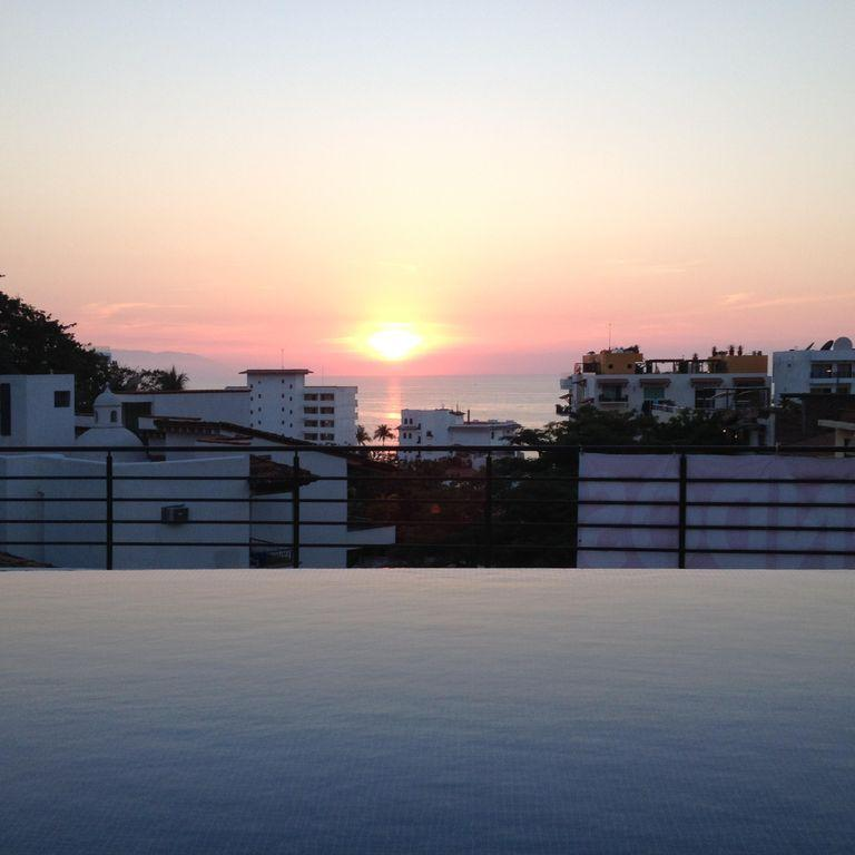 Wonderful Sunsets from infinty pool and sun deck