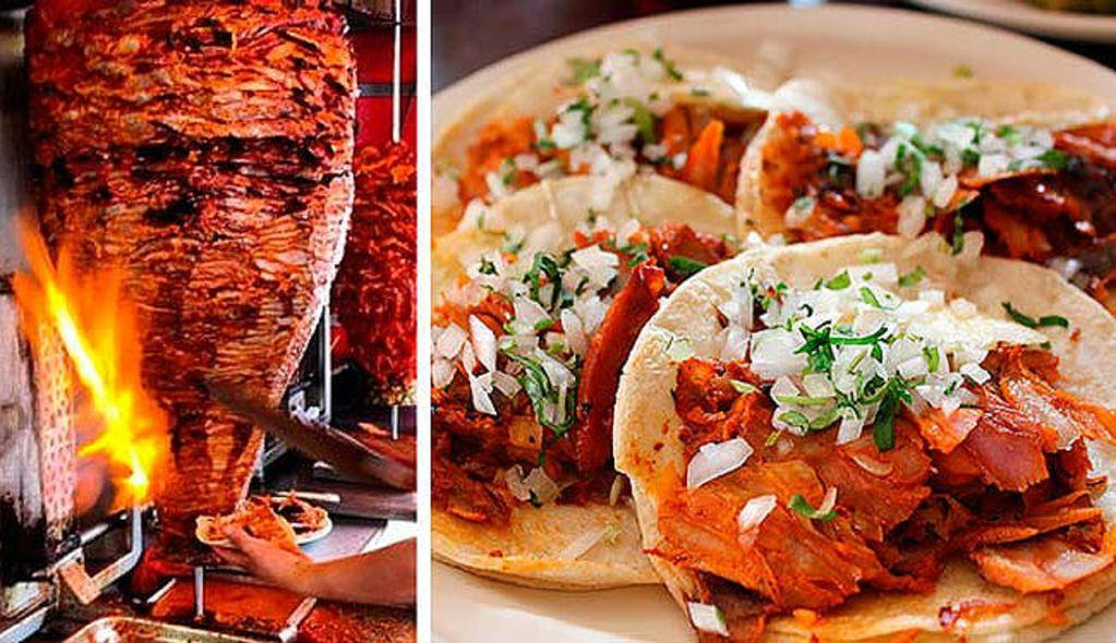 Tacos Panchos al pastor (barbecue tacos) only 5 minute walk from your unit.