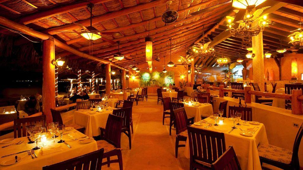 La Palapa beach restaurant, only a 5 minute walk from your unit