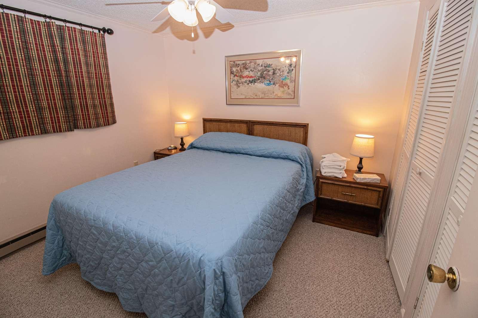 Second bedroom has queen bed (new mattress January 2019)