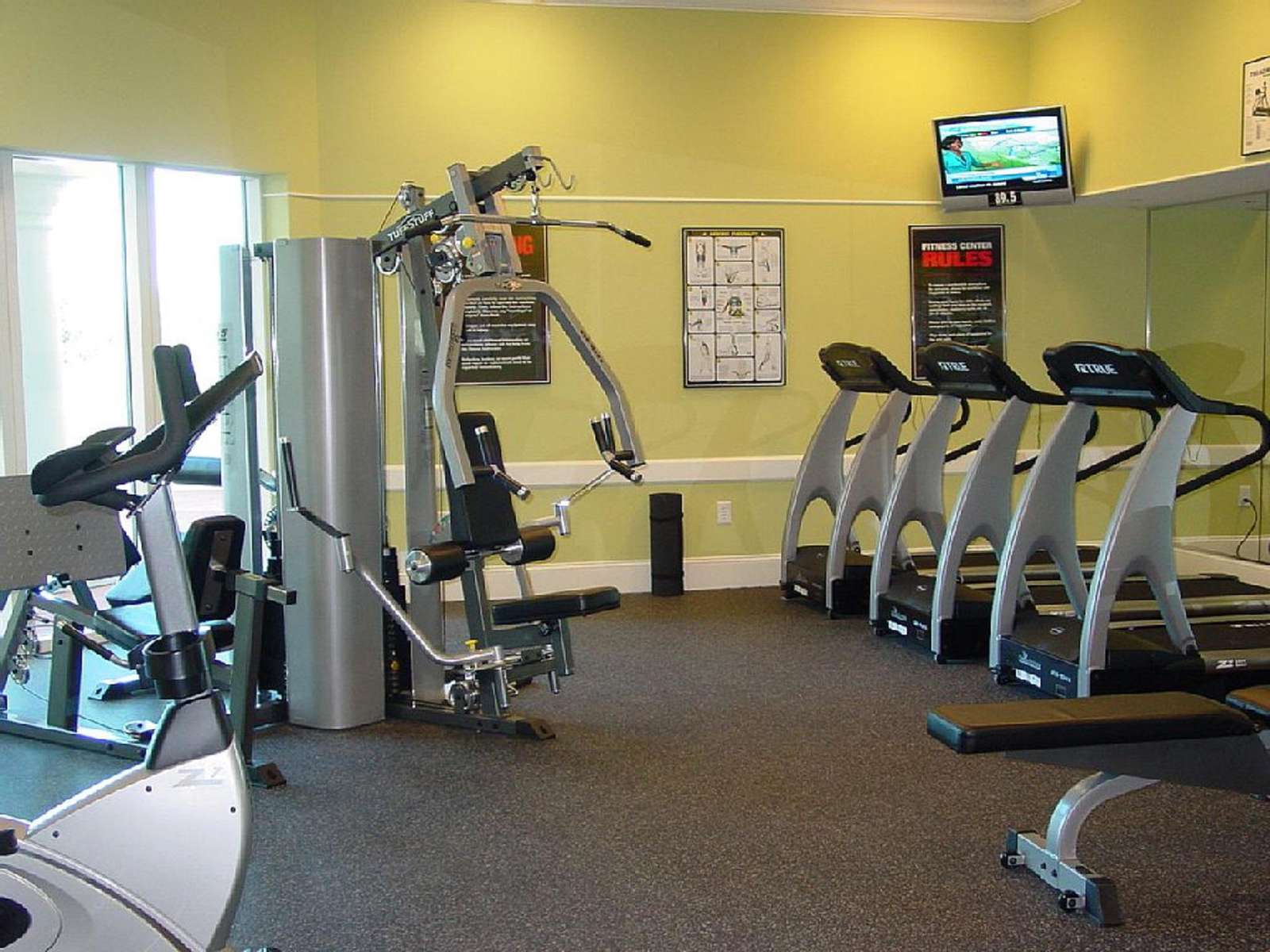 5th Floor Complimentary Fitness Center
