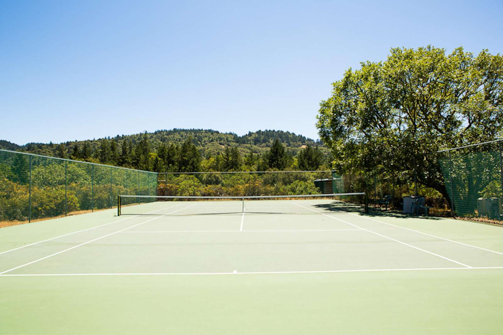 Tennis Court (shared with Wine Country Ranch)