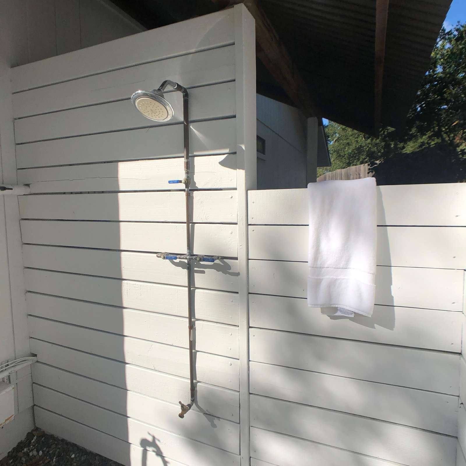 Bathroom 3: Outdoor Shower